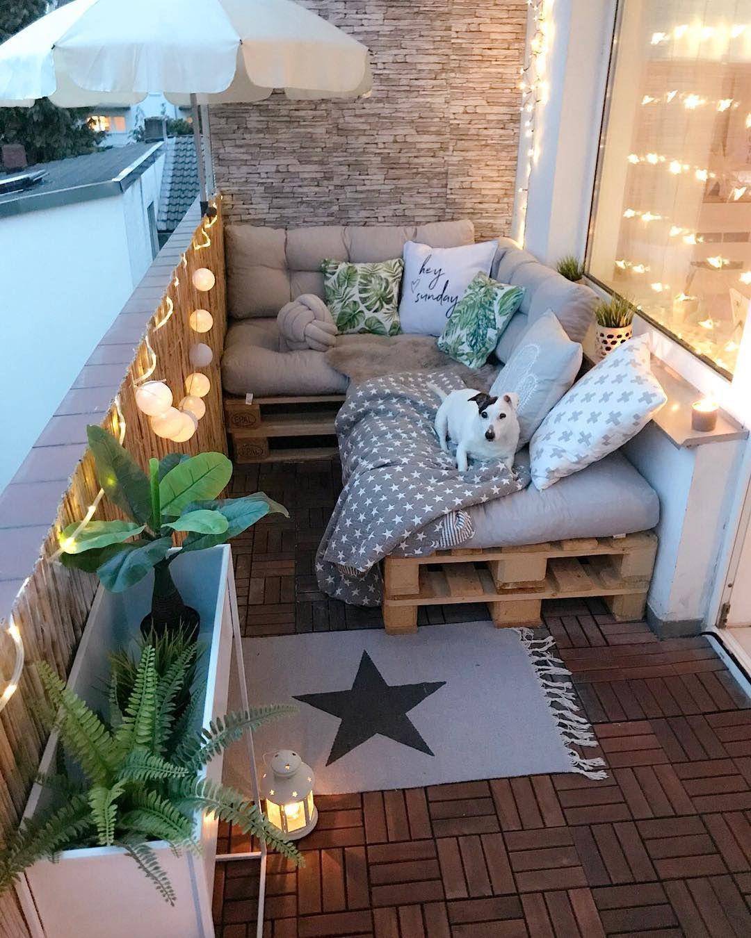 Palettenmöbel für Terrasse ist auch der Lieblingsplatz für Ihr Haustier