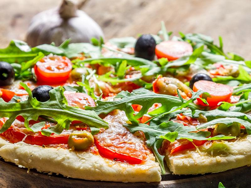 Oliven und Tomaten lecker