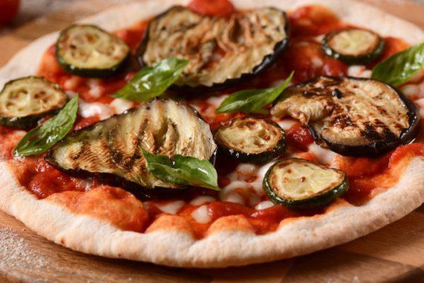 gegrilltes Gemüse Zucchini