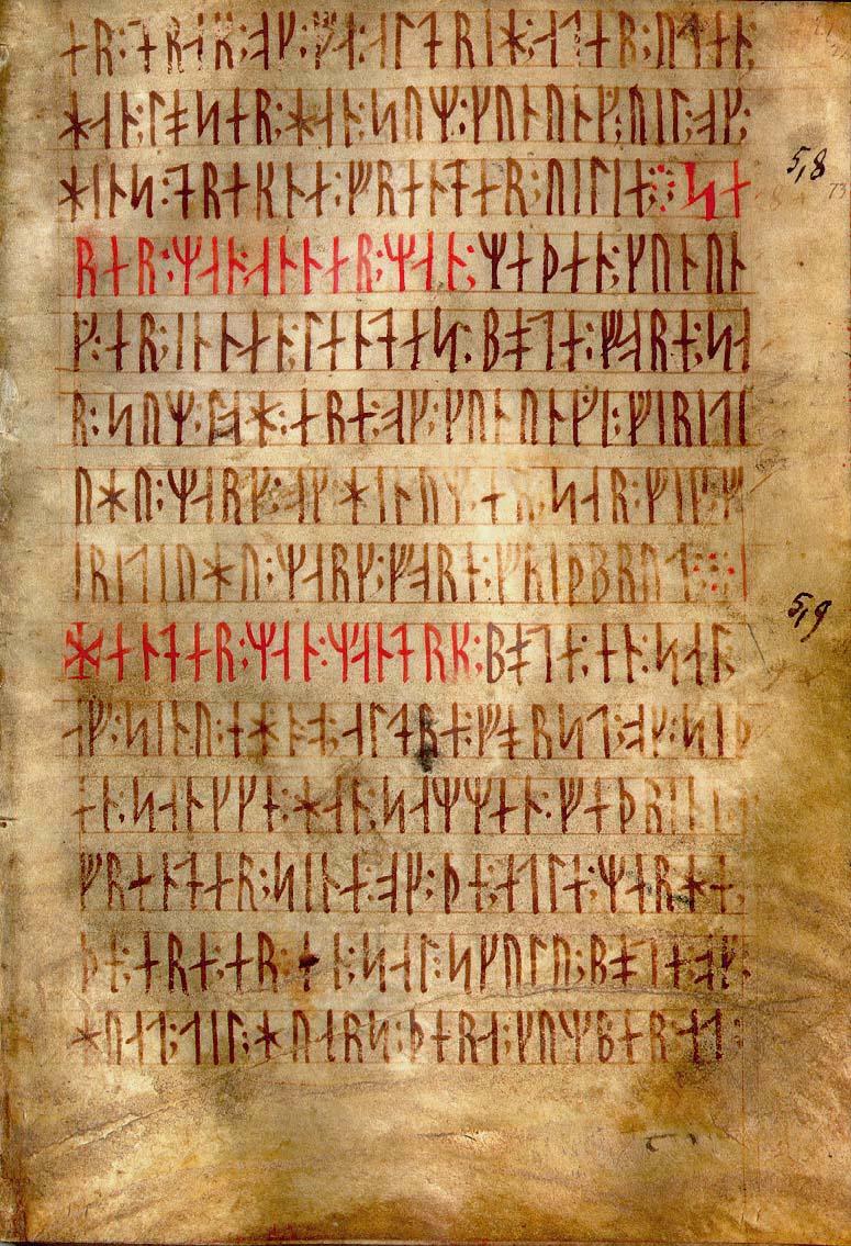 die alte Runenschrift