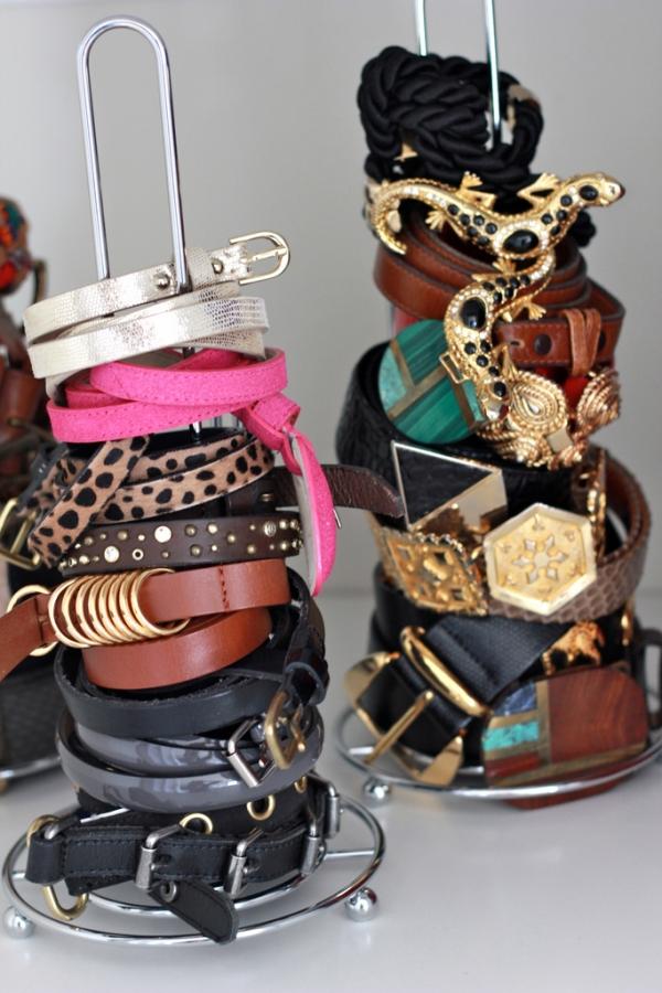 Schmuckaufbewahrung Küchenrolle Gürtel Armbänder