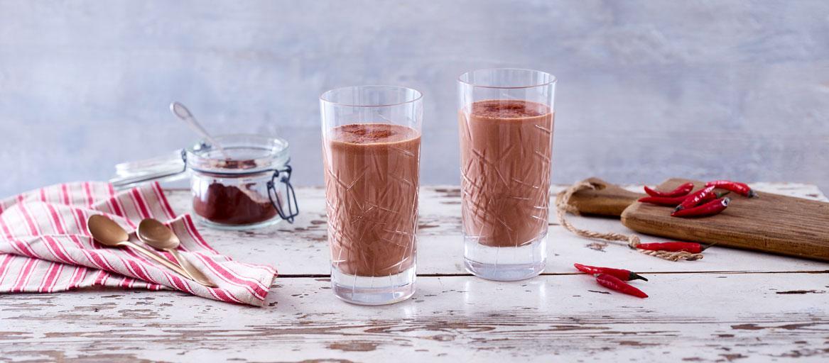Shake Schokolade zum Abnehmen