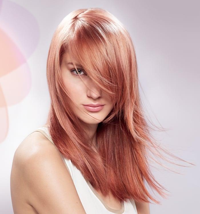 Strawberry Blond Haarfarbe
