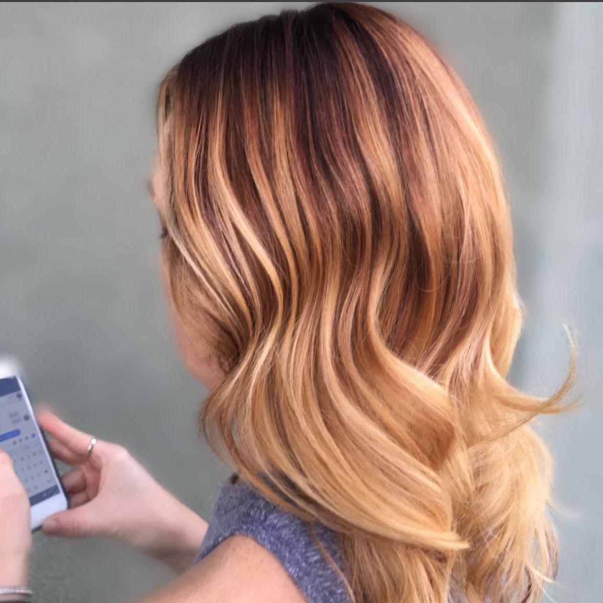 Strawberry Blond Haarfarbe Ideen