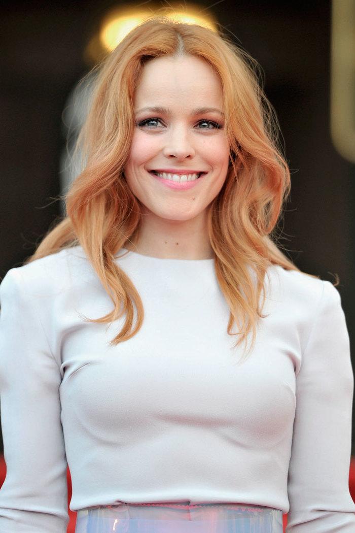Strawberry Blond - die Wahl der Prominenten für Haarfarbe