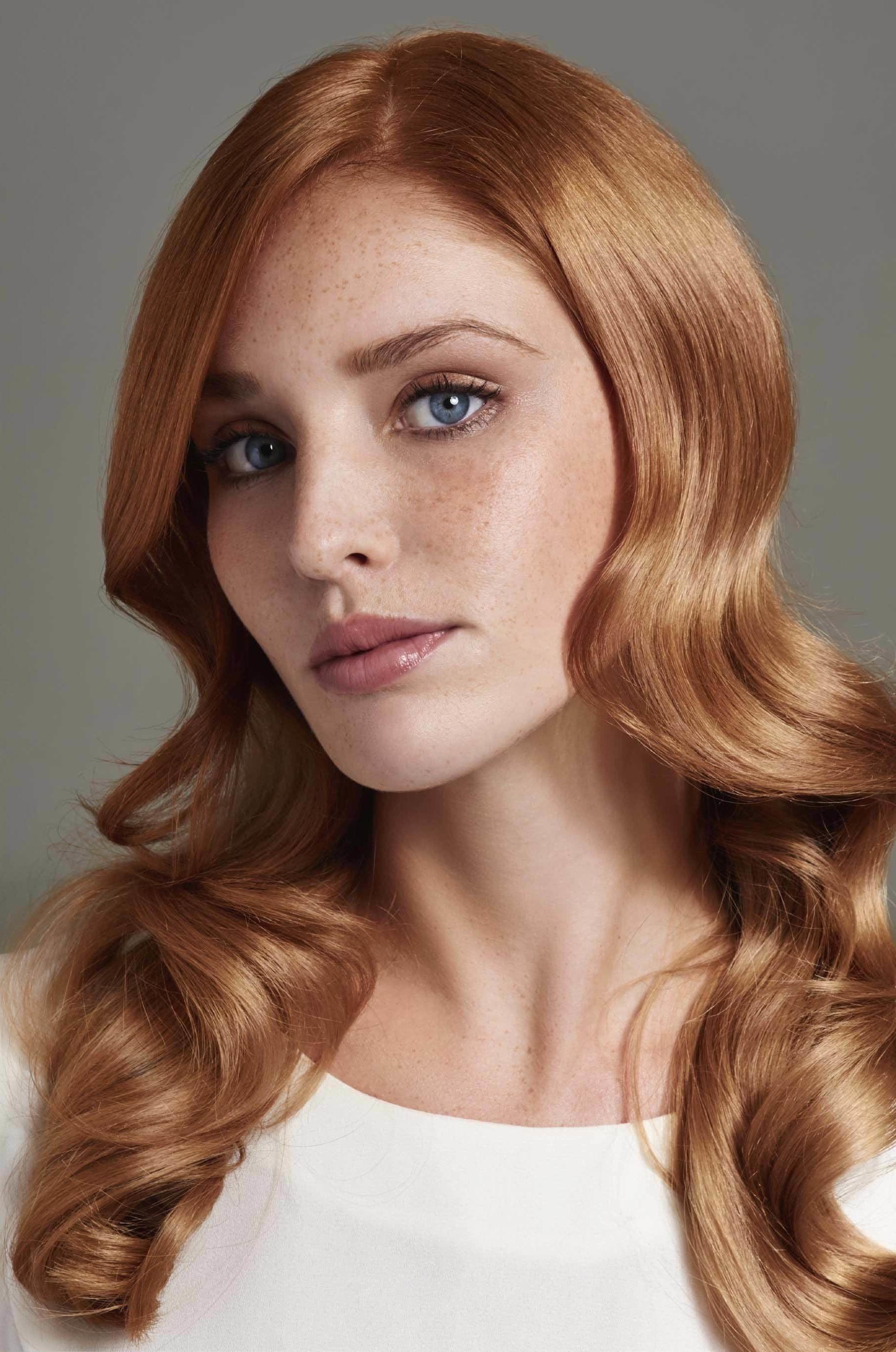 Erdbeerblond ist die neue blonde Haarfarbe