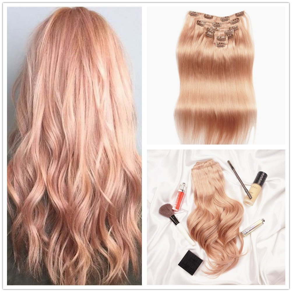 Strawberry Blond - Erdbeerblond Ombre Haarfarbe