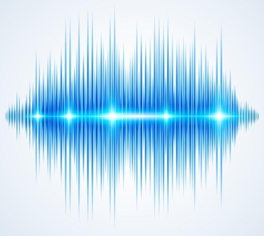 weißes Rauschen Frequenz Grafik