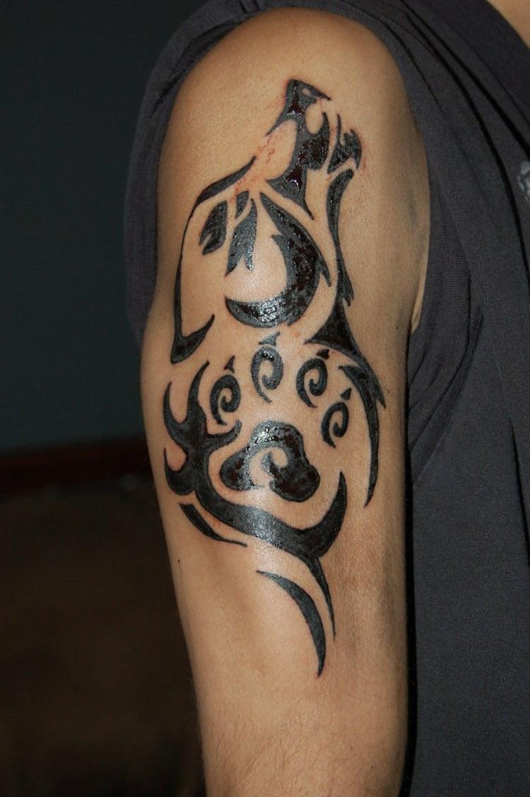 Tätowierung Mann Tribal
