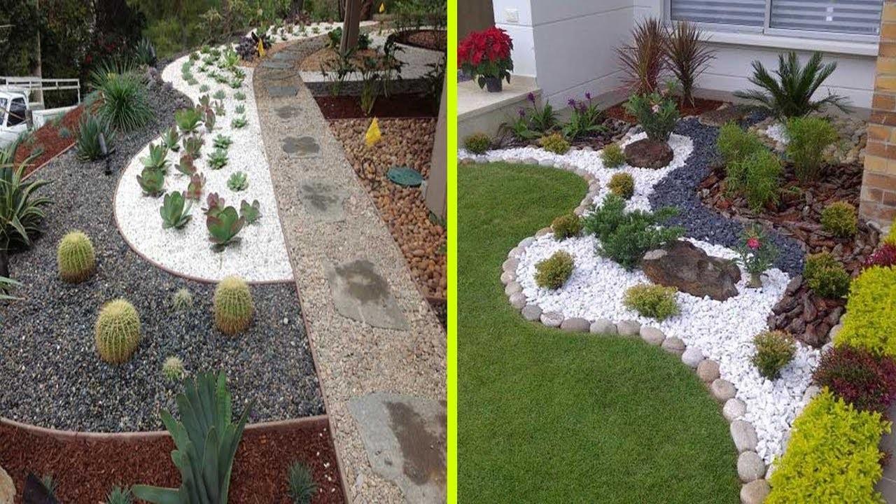 Gartengestaltung mit Steinen - Was ist der Unterschied zwischen Zierkies und Ziersplitt