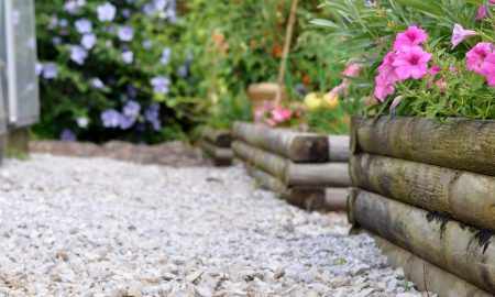 Gartengestaltung mit Zierkies und Ziersplitt