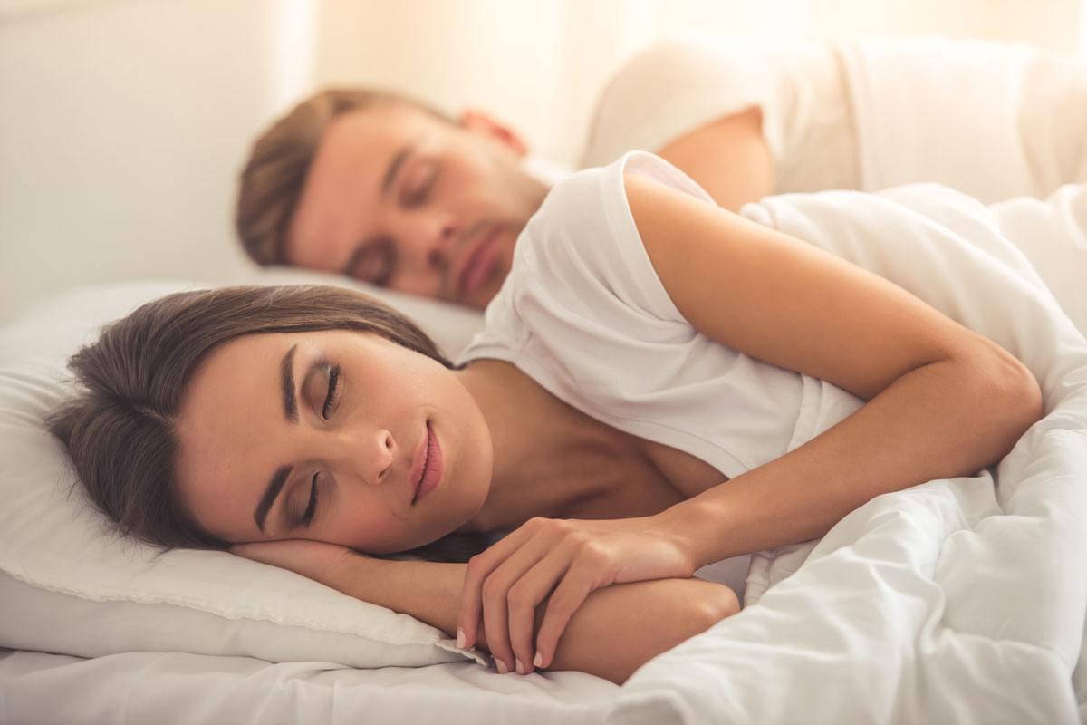 besser schlafen bequeme Matratze