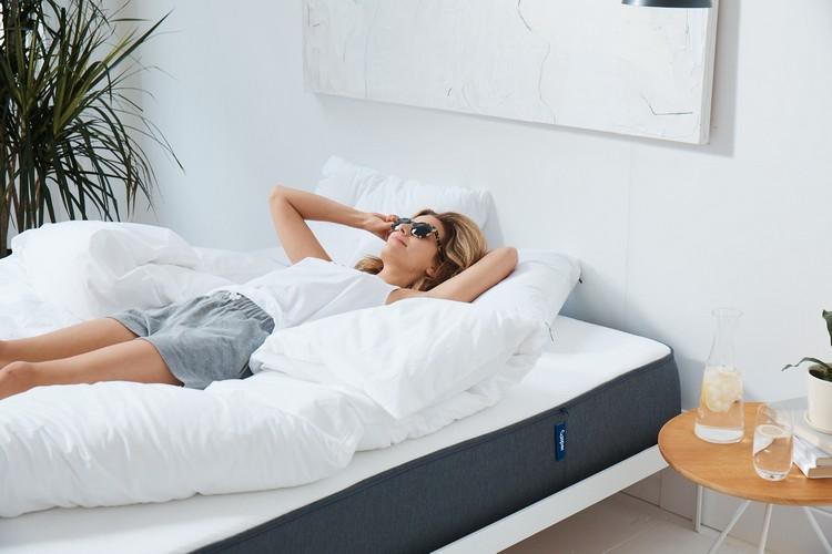 besser schlafen Matratze Kissen Bettzeug