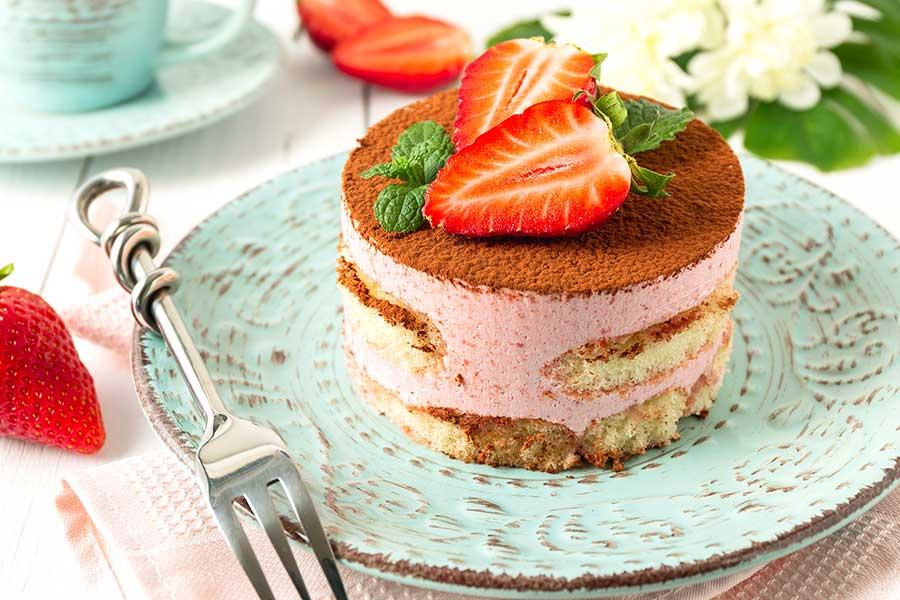 Erdbeer-Tiramisu selber zubereiten leckere Rezeptideen
