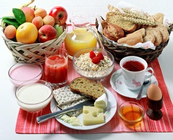 gesundes Frühstück abnehmen