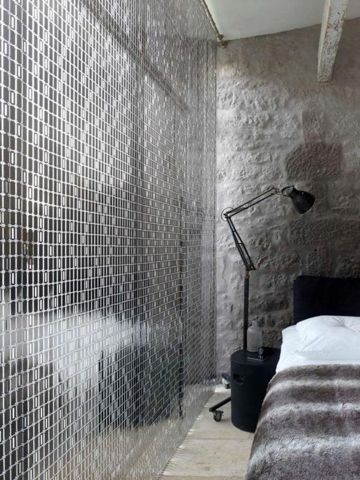 Gerdinen auswählen für das Schlafzimmer transparent