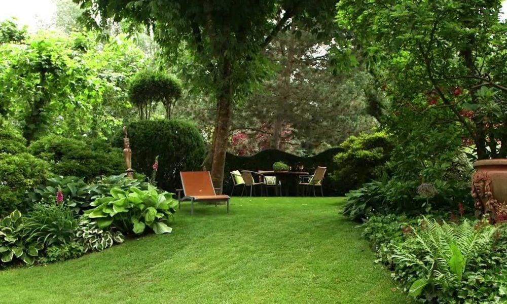 Gartengestaltung modern grüne Oase