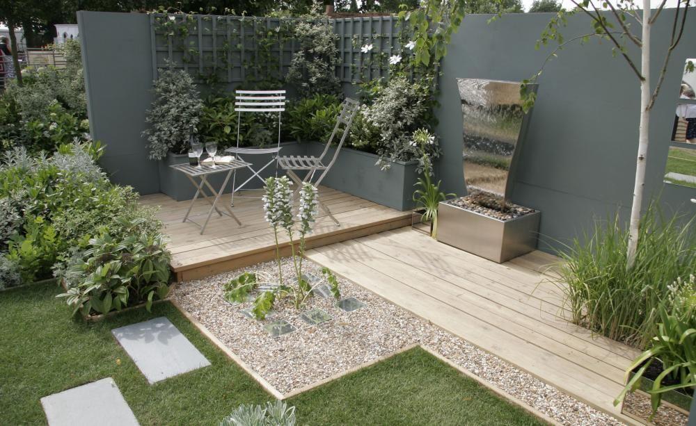 Sitzbereich gemütlich Garten