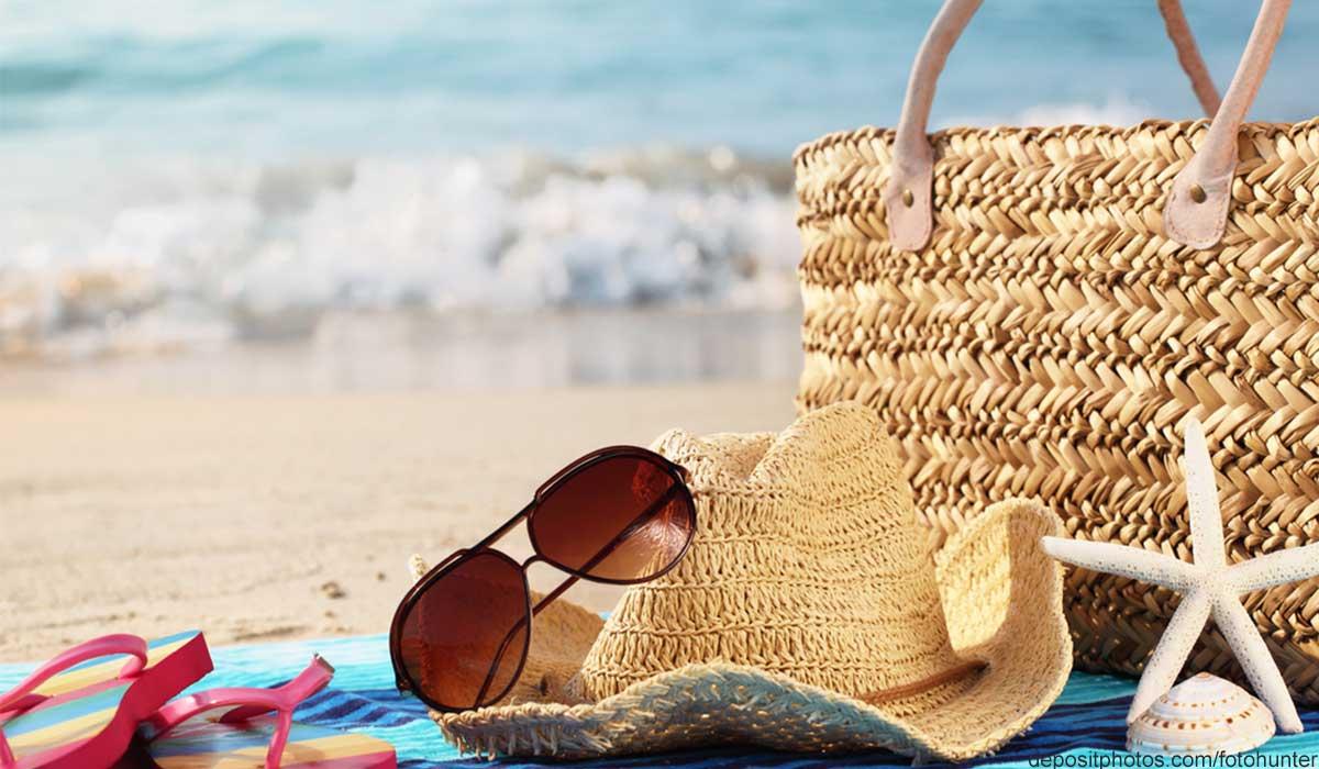 Strandtasche packen welche Accessoires