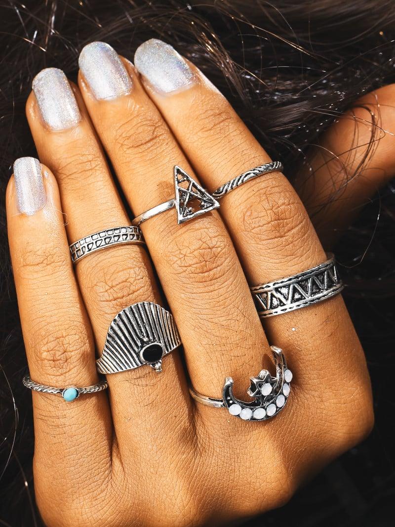 Schmuck-Trends 2019 übergroße Ringe