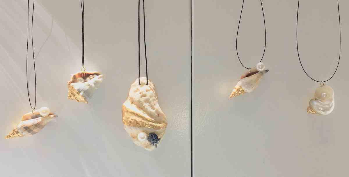 Schmuck-Trends Muschelschmuck herrliche Halsketten