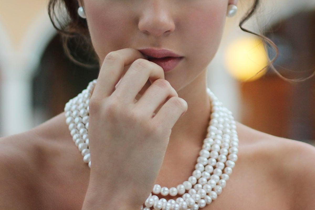 Perlenschmuck ist eine ewige Klassik