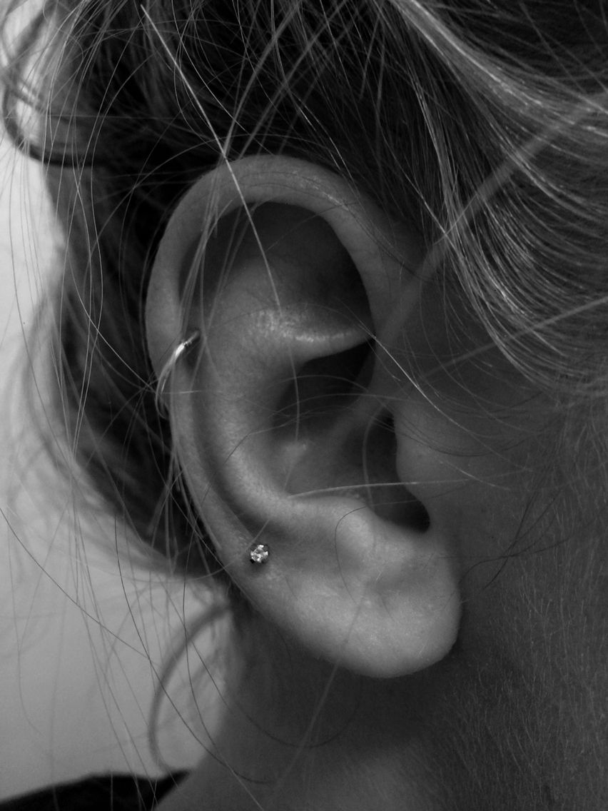 Percing High Lobe Helix
