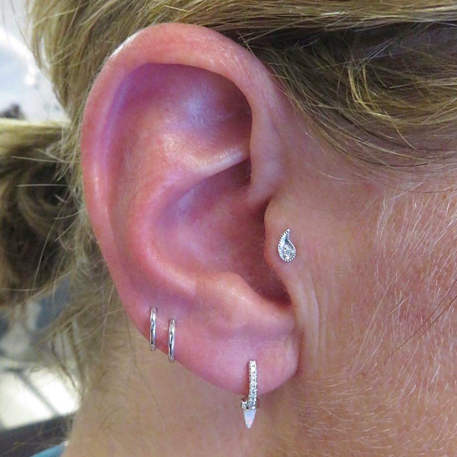 Piercing Trends High LObe