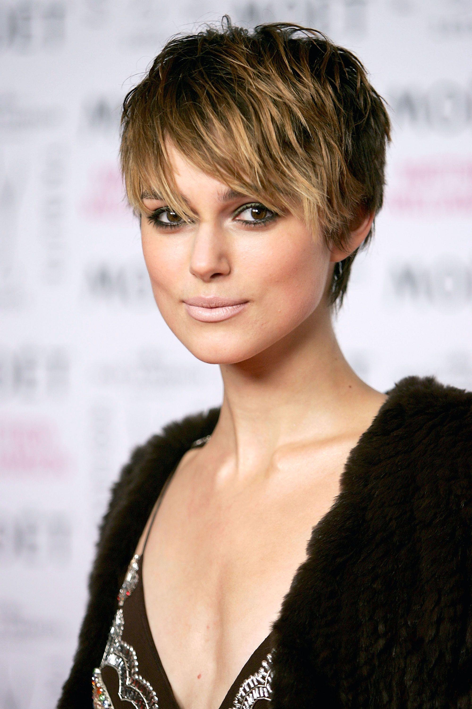 Pixie Cut modern Keira Knightley