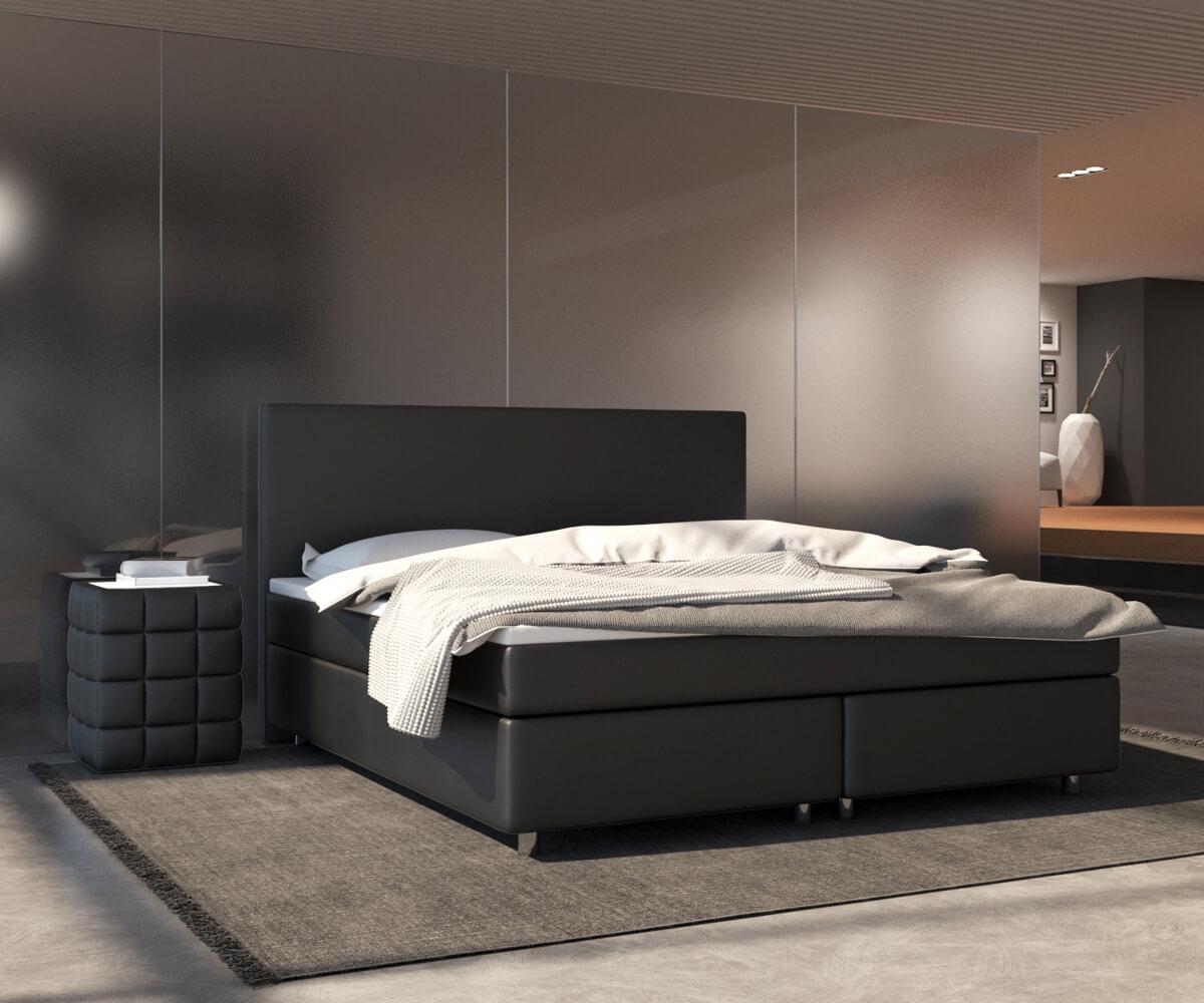 Schlafzimmer Bett richtig positionieren bequeme Matratze