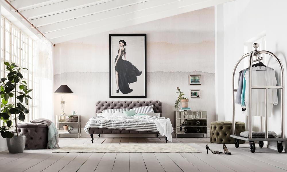 besser schlafen Schlafzimmer Vintage Stil