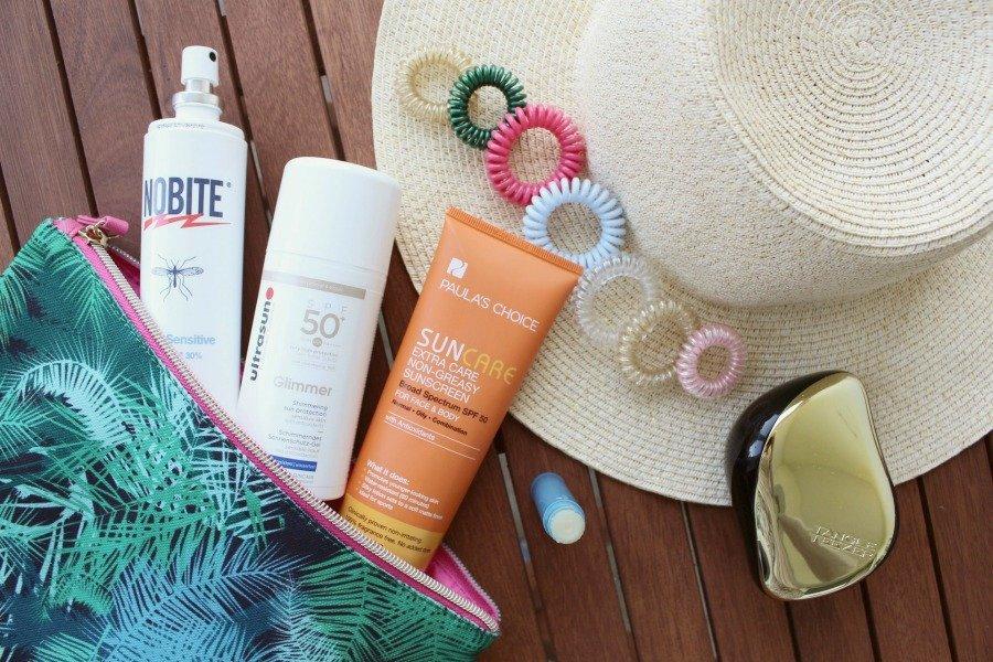 Strandtasche Kosmetik Haaraccessoires