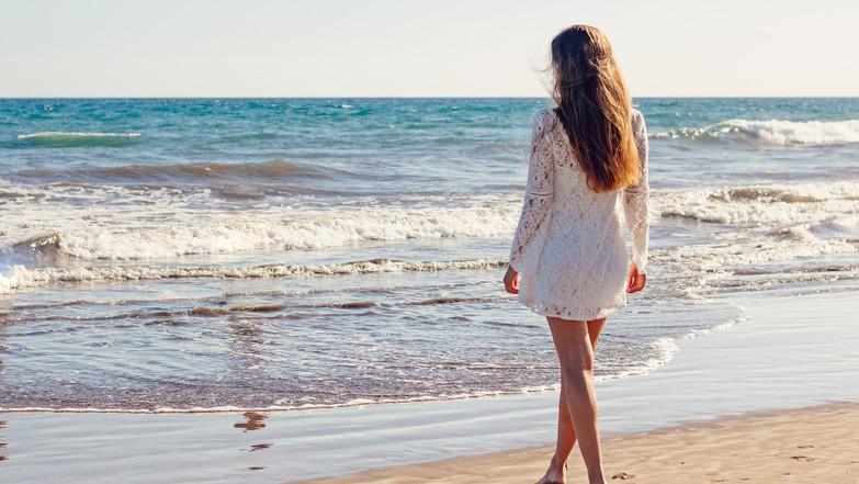 Strandtasche Kleidung Spitze Frau herrlicher Look