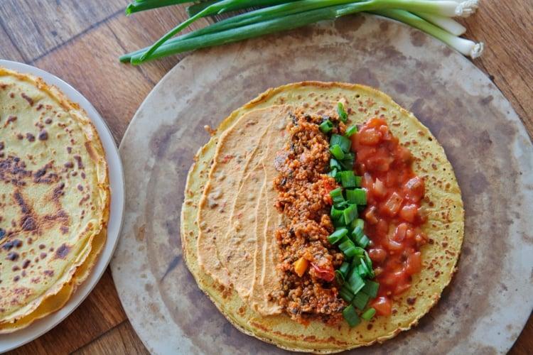 Steinzeit Diät Tortillas Rezept