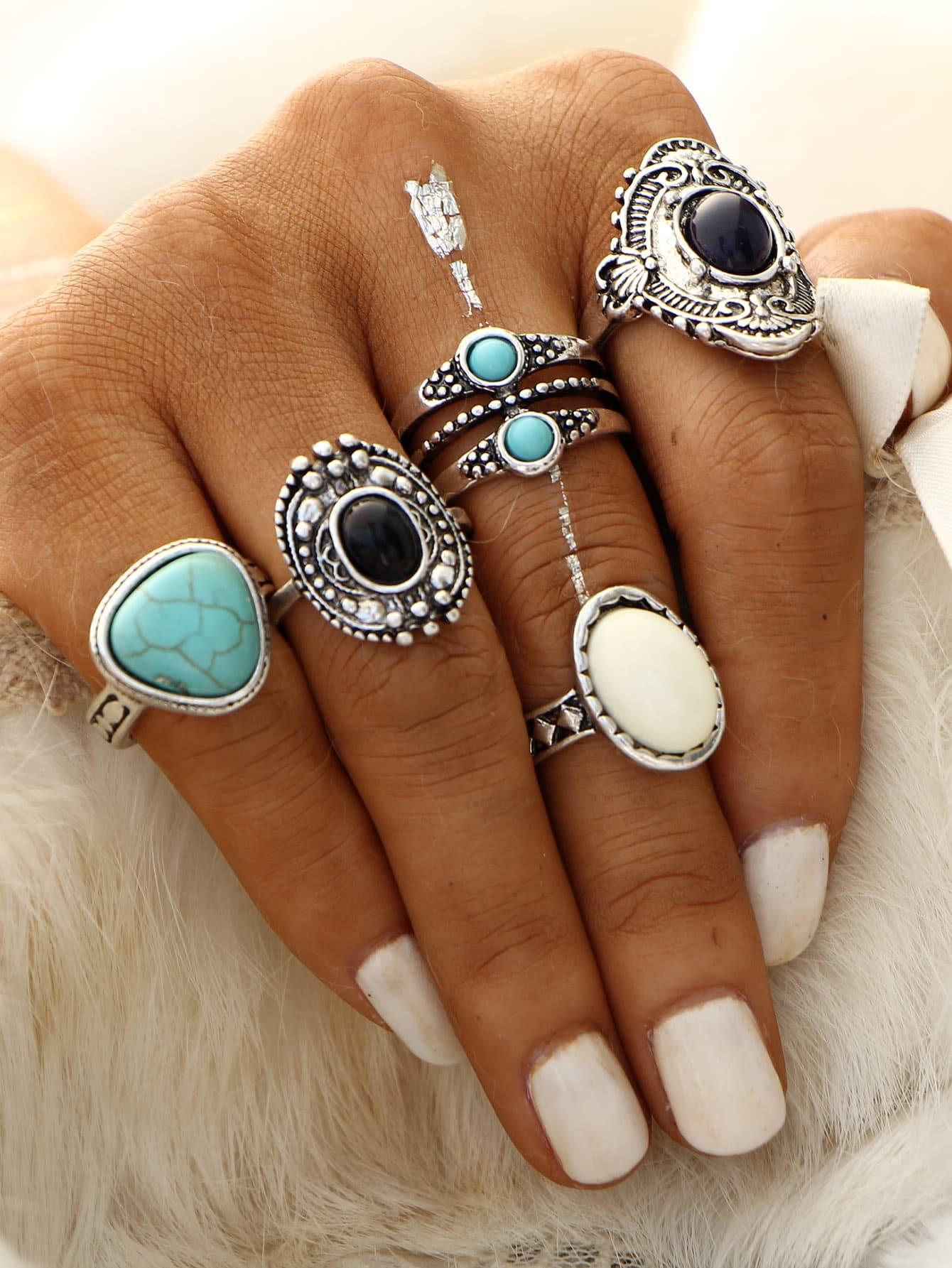 Schmuck-Trends 2019 übergroße Ringe orientalisch