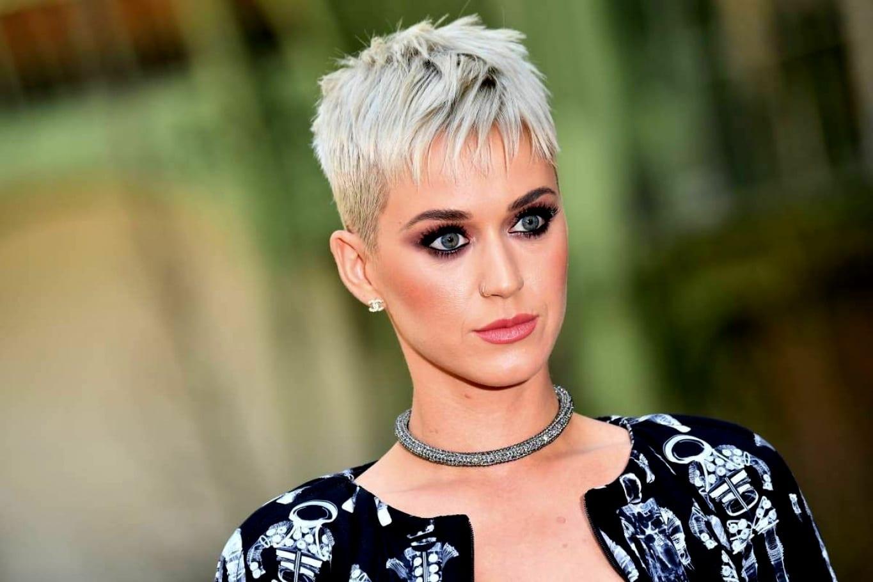 Kurzhaarfrisuren 2019 Damen Undercut Katy Perry
