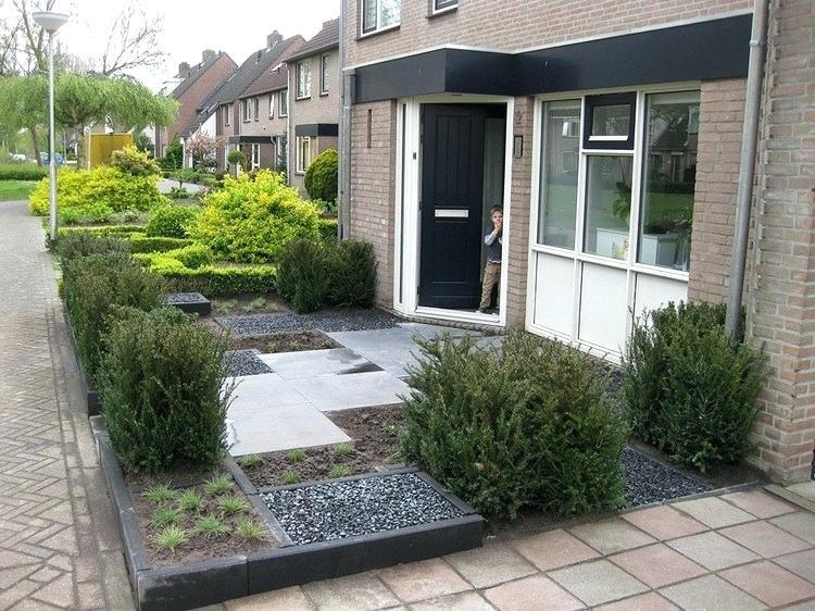 Gartengestaltung modern Trittfliesen Stein