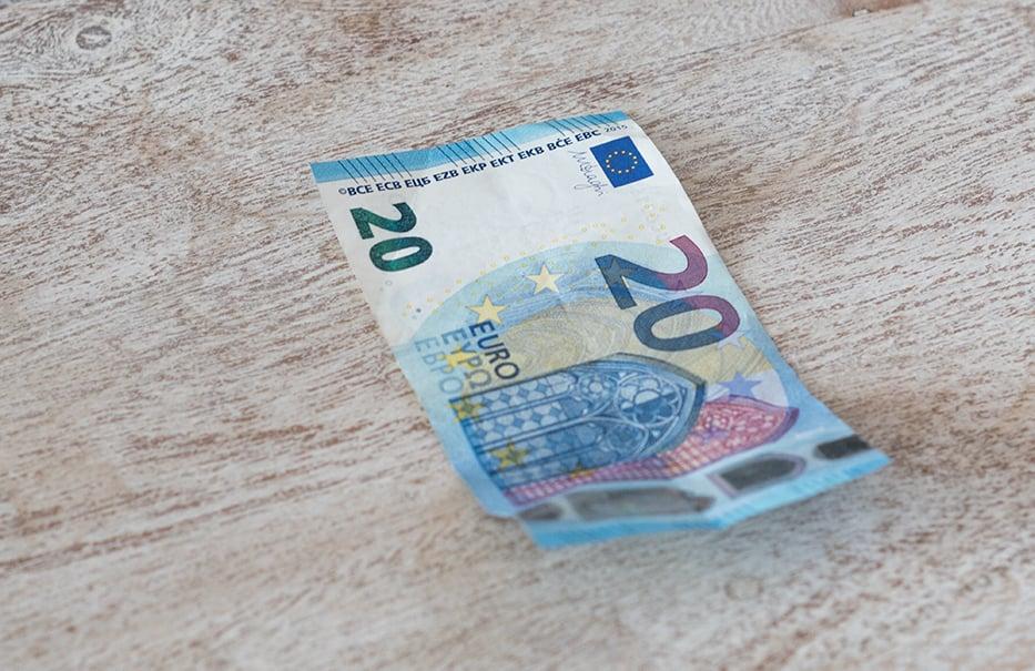 Geldgeschenk DIY 20 Euro