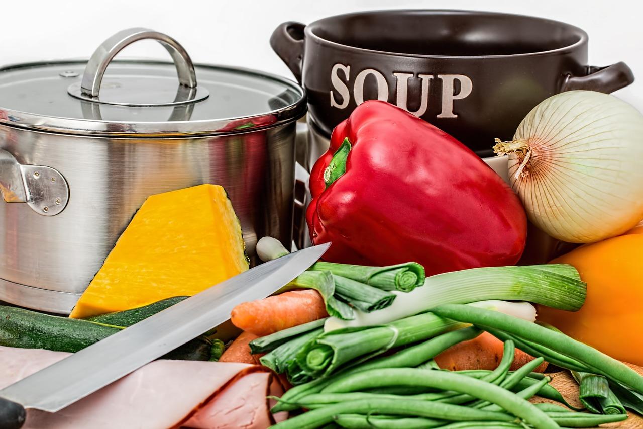HCG Diät viel Gemüse essen