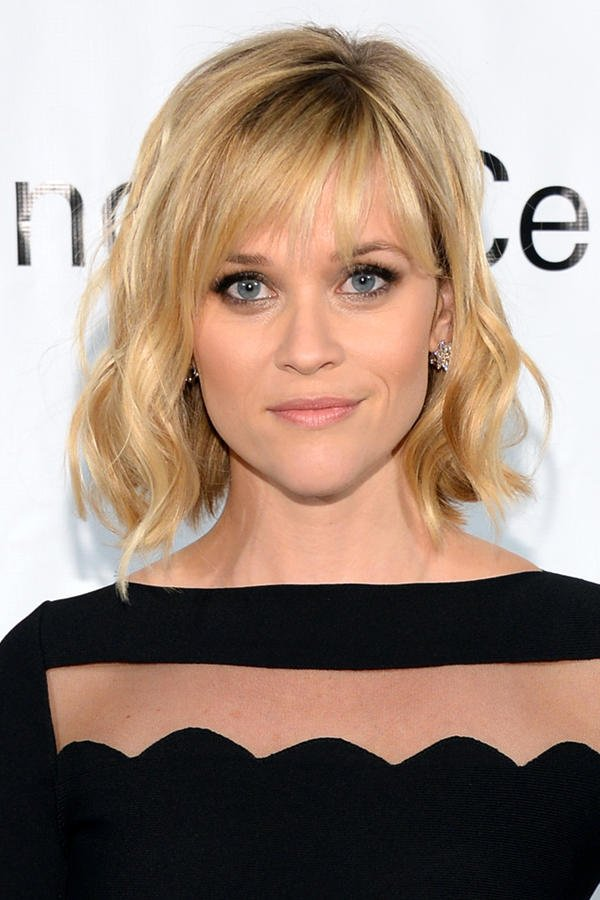 moderne Damenfrisuren romantisch Reese Witherspoon