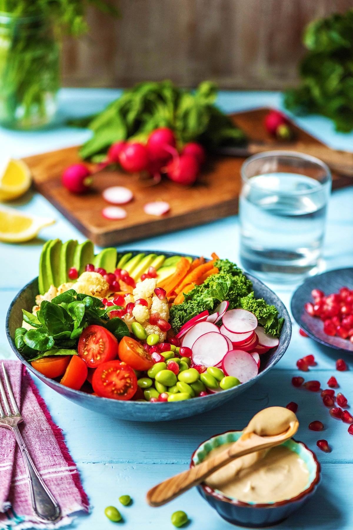 Buddha Bowl Rezepte vegetarisch Gemüse