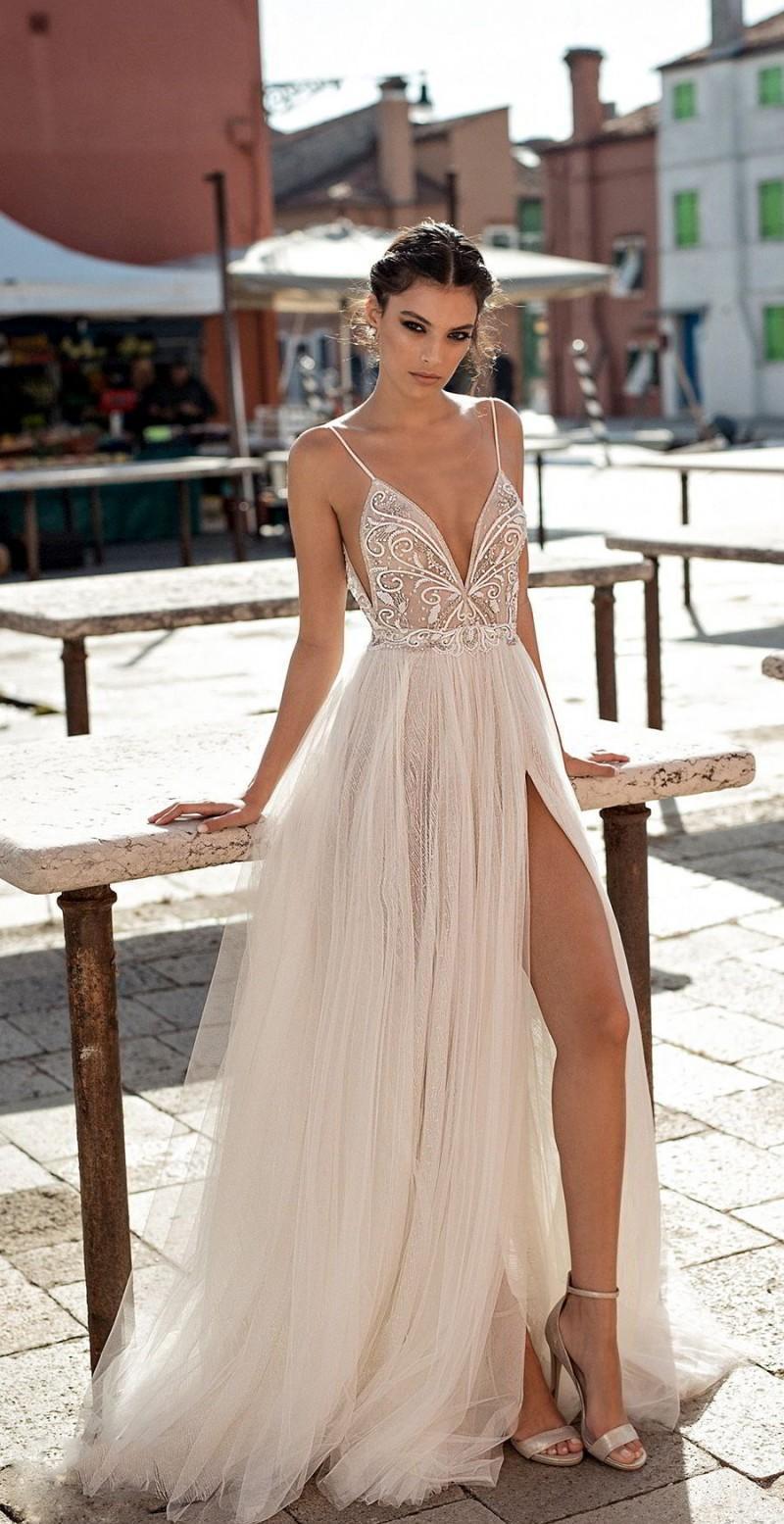Hochzeitskleid Sommerhochzeit Champagnerfarbe