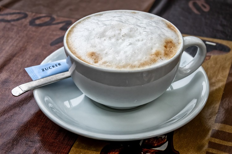 Koffein Wirkung Cappuchino
