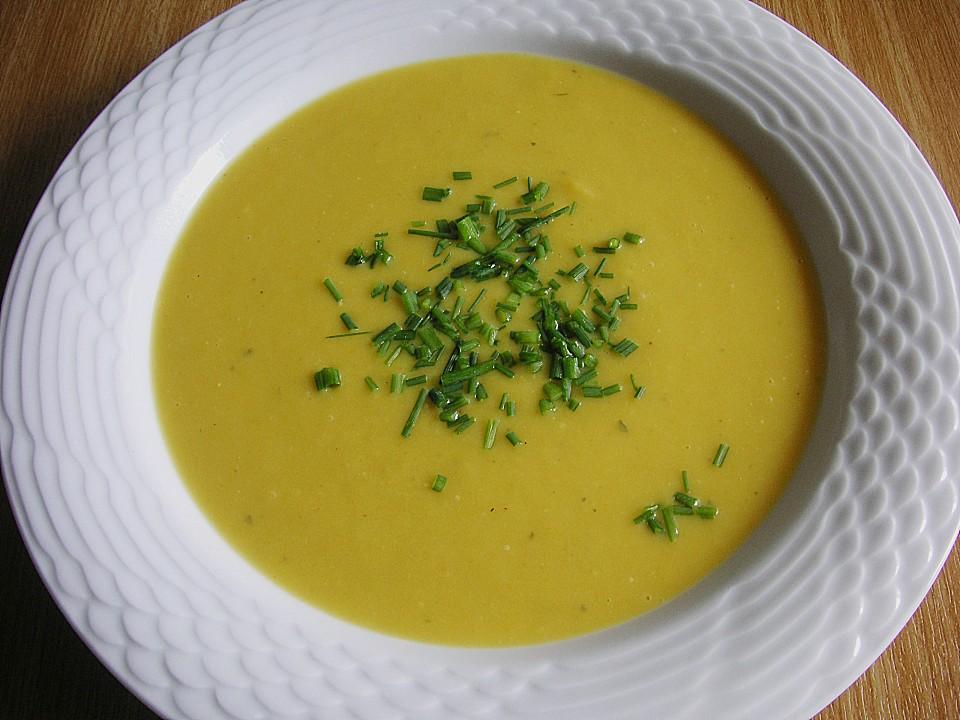 Cremesuppe Gemüse Kartoffel Möhren