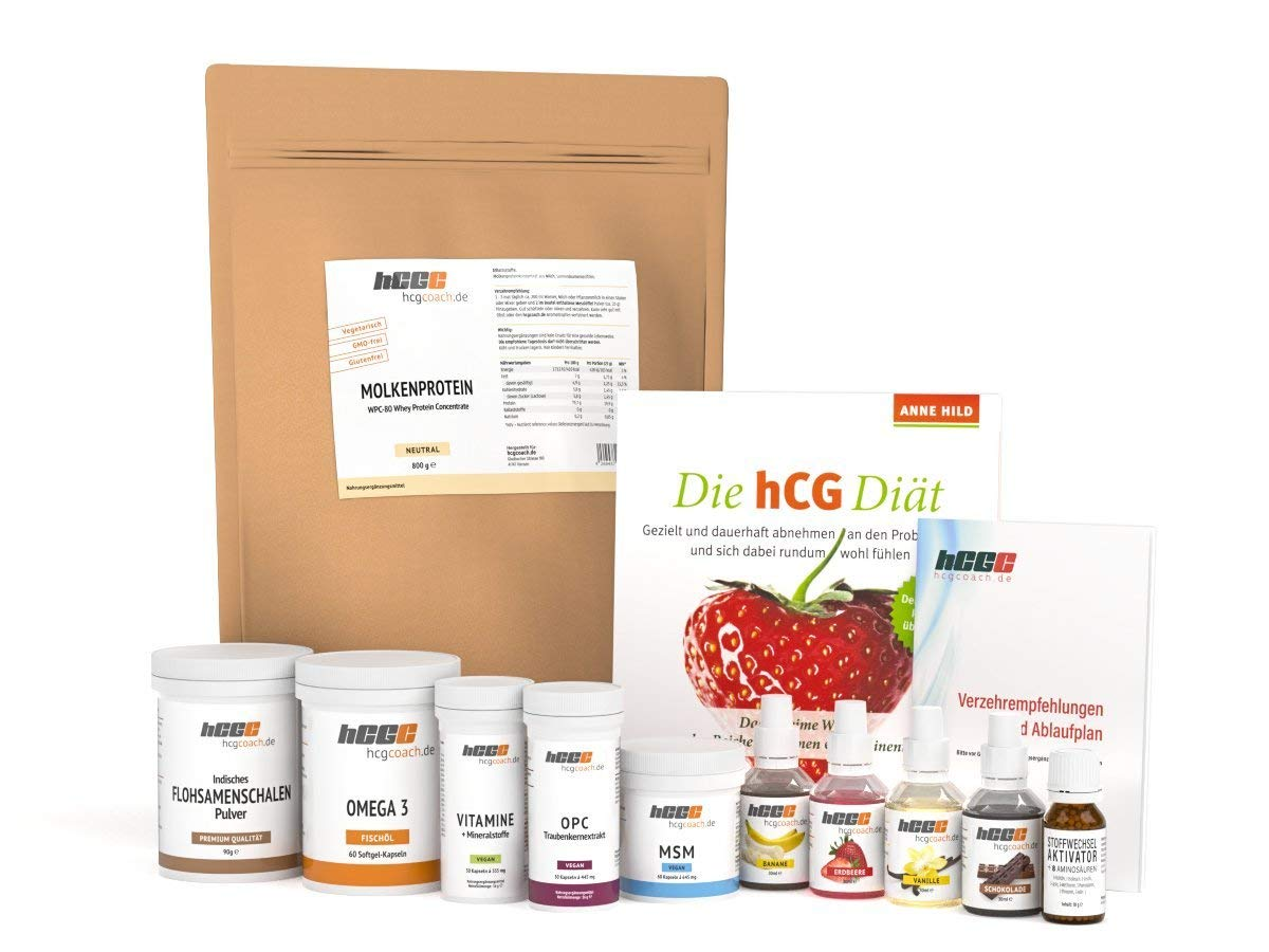 Ernährungszusätze mit HCG abnehmen