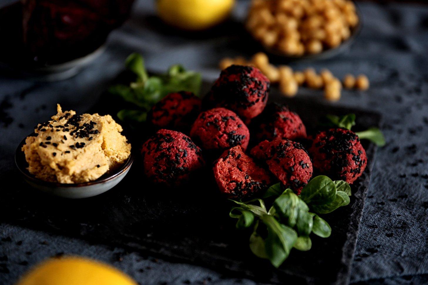 Fingerfood Rezepte vegane Falafel selber zubereiten