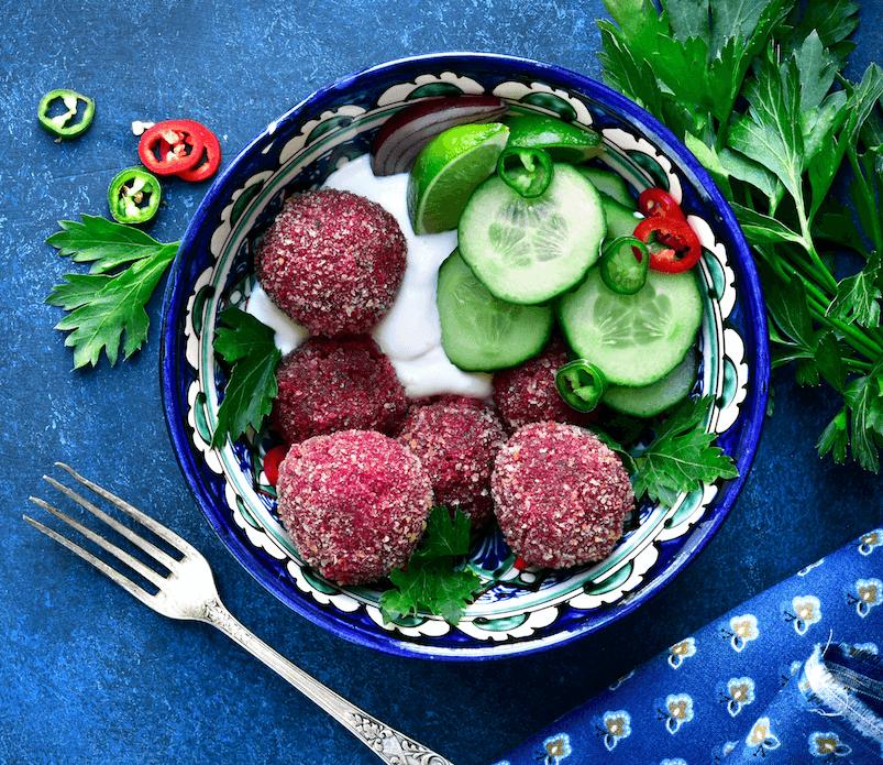 Fingerfood Rezepte vegane Falafel