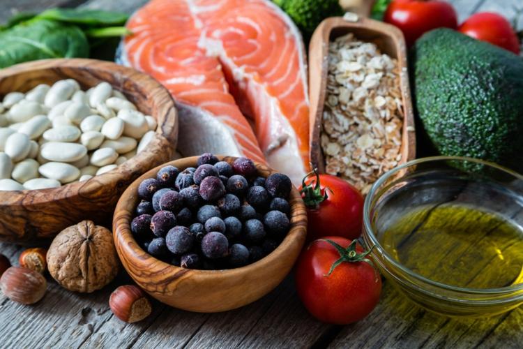 Punkte-Diät Nahrungsmittel vielfältig gesund