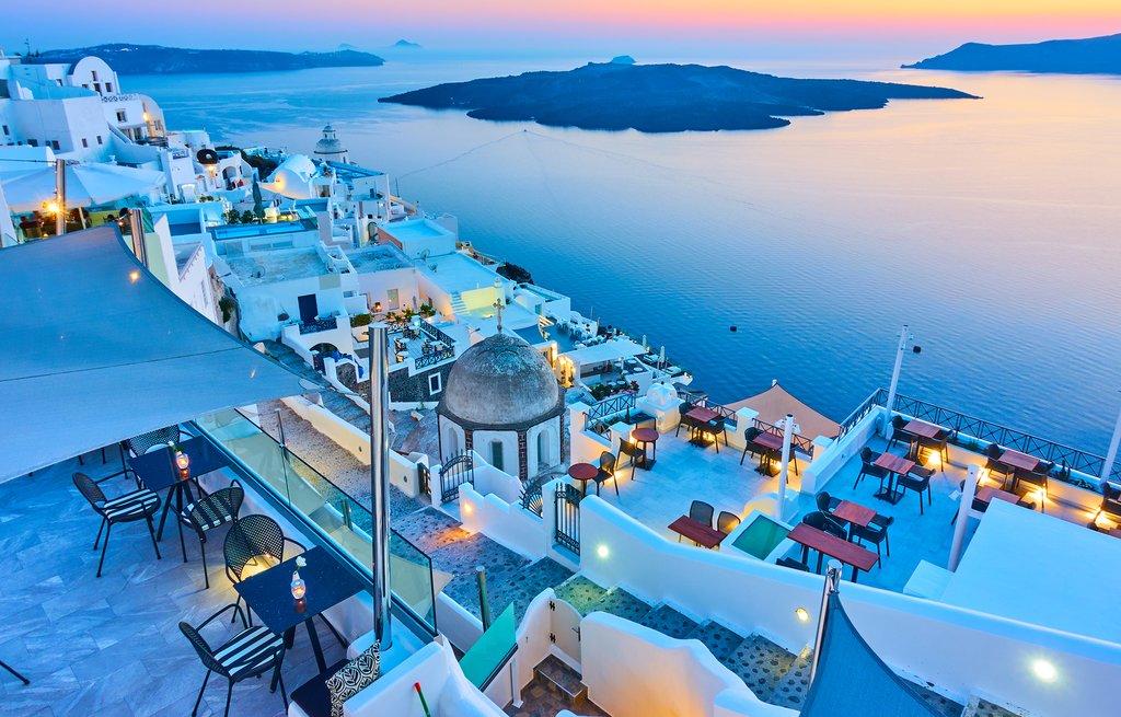 Santorini Griechenland Meerurlaub