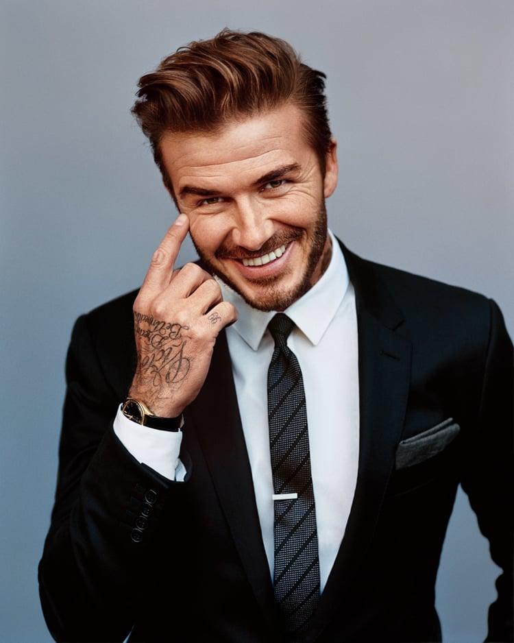 Männerfrisuren elegant David Beckham